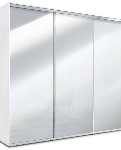 Skriňa Jagoda A31 Tri zrkadlá Biely