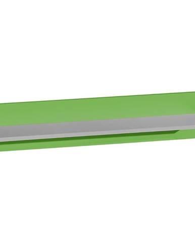 Polička Futuro F11 Zelená/Biely/Grafit