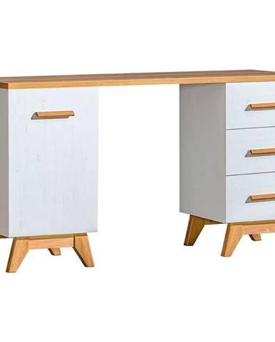 Písací stôl D Sven SV12 Nash/borovica Andersen