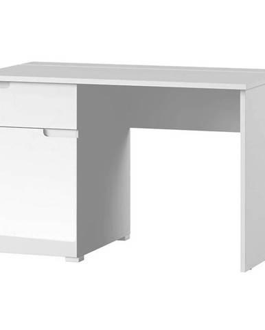 Písací stôl 1D Selene 14 Biely