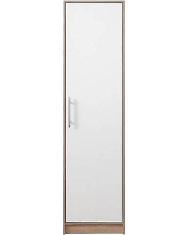 Skriňa Smart SR5 50 cm dub sonoma/biela