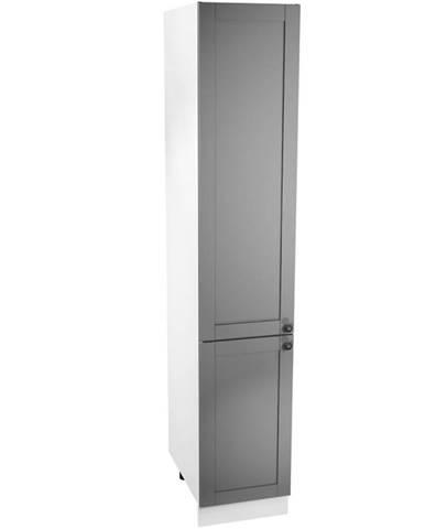 Kuchynská skrinka Linea D40SP grey