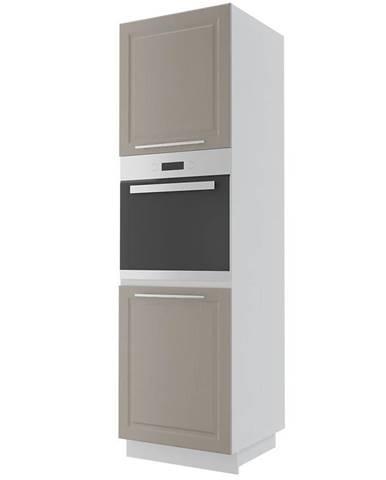 Kuchynská skrinka Emporium d14ru/2d grey stone/kor.biela