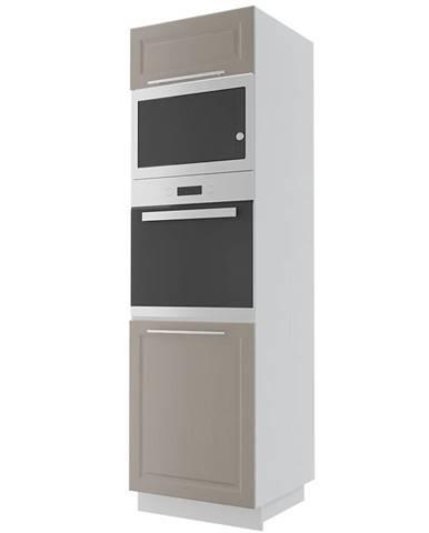 Kuchynská skrinka Emporium d14ru grey stone/kor.biela