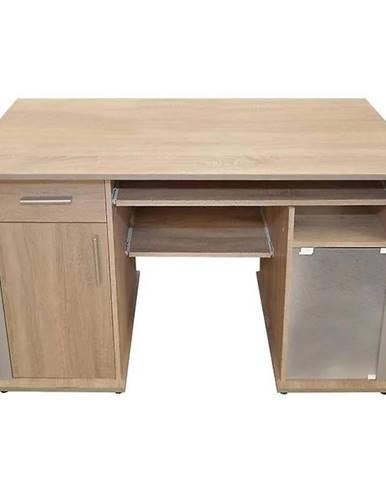 Písací stôl Spectrum dub sonoma