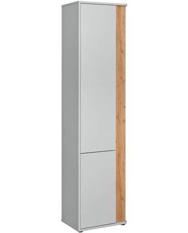 Skriňa Vivero TYP SS1 perla gray/artisan