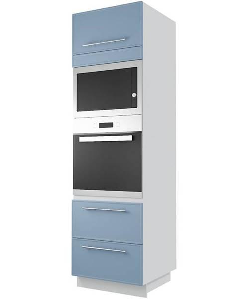 MERKURY MARKET Skrinka do kuchyne  Magnum D14 RU /2 H - 286 denim/korp white