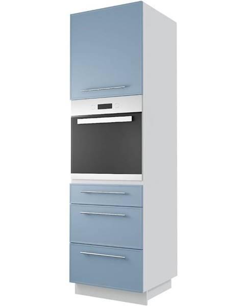 MERKURY MARKET Skrinka do kuchyne  Magnum D14 RU/3E denim/korp white
