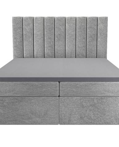 Posteľ Afrodyta 160x200 Monolith 84 s vrchným matracom