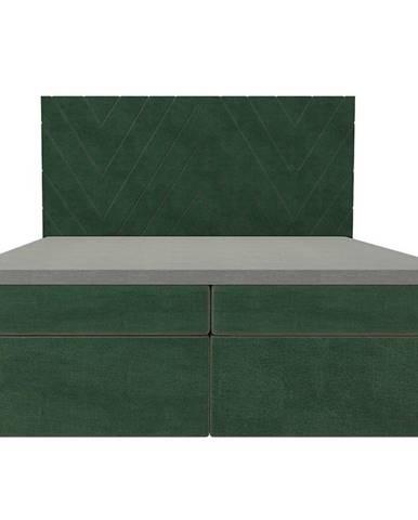 Posteľ Ariel 160x200 Monolith 37 s vrchným matracom