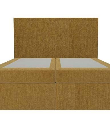 Posteľ Ariel 160x200 Monolith 48 bez vrchného matracu
