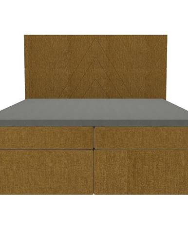 Posteľ Ariel 160x200 Monolith 48 s vrchným matracom