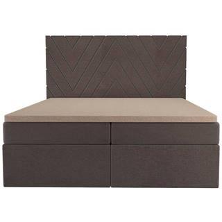 Posteľ Ariel 160x200 Monolith 15 s vrchným matracom