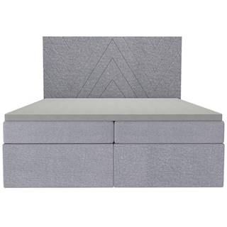 Posteľ Ariel 160x200 Monolith 84 s vrchným matracom