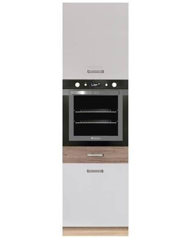 Skrinka do kuchyne Econo 20D Sonoma/Biely/San Remo