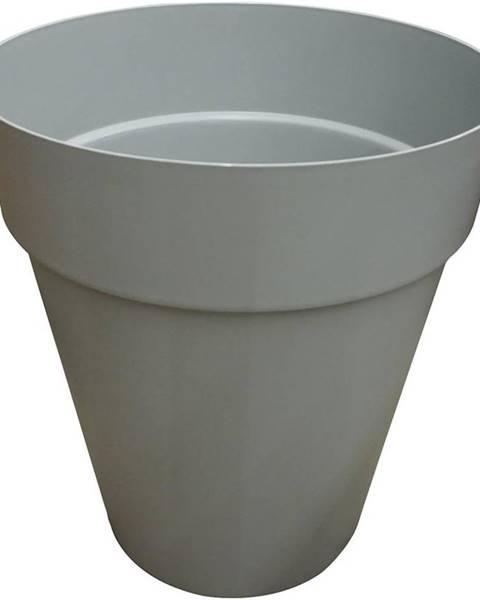 MERKURY MARKET Kvetináč CAPRI HIGH 46 cm light grey