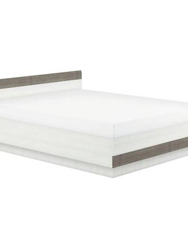 Posteľ Blanco 32 150 borovica snežná/new grey