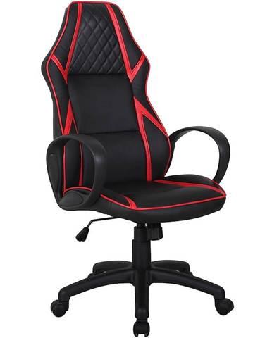 Kancelárska stolička CX1093HR červená