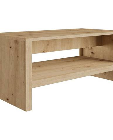 Konferenčný stolík 120x60 Malta St Dub Artisan/Biely