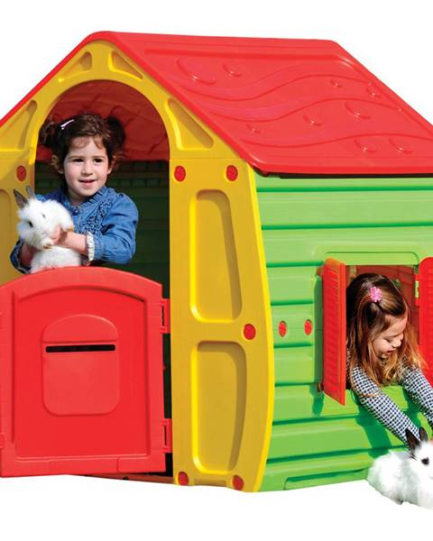 Domo Buddy Toys Domček MAGICAL červený