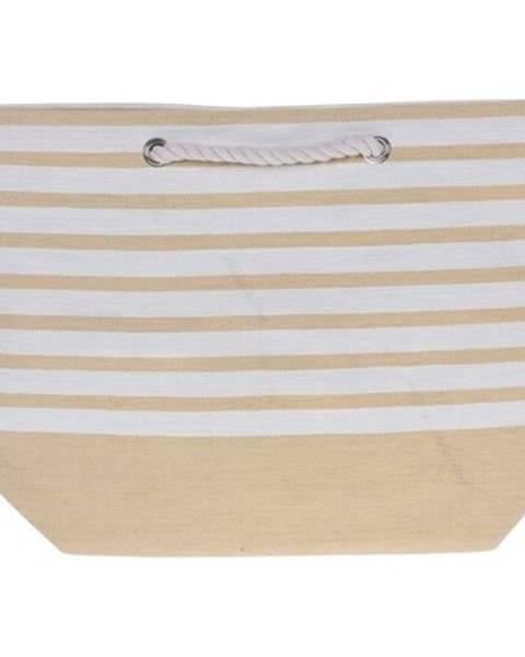 Topvet Plážová taška Stripes 52 x 38 cm, žltá