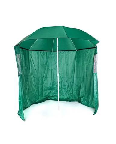 HAPPY GREEN Slnečník s bočnou stenou, priemer 230 cm