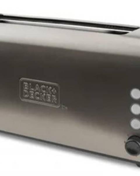 Bosch Hriankovač Black+Decker BXTO1000E, 1000W, nerez VADA VZHĽADU, ODR