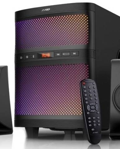 Reproduktory Fenda F&D F580X, 2.1, 70 W, Bluetooth, čierne