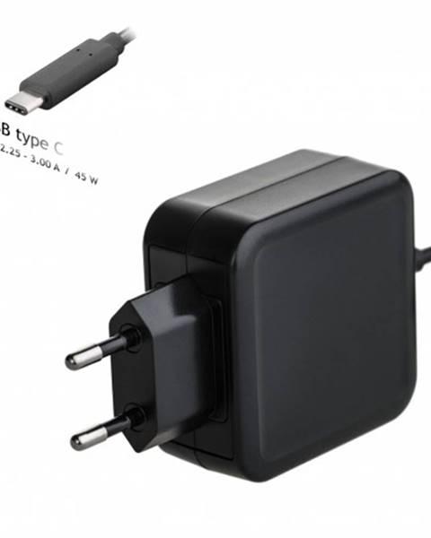 Akyga Nabíjačka na notebook Akyga AK-ND-60, 45 W, USB-C Power Delivery