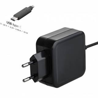 Nabíjačka na notebook Akyga AK-ND-60, 45 W, USB-C Power Delivery