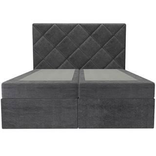 Posteľ Reja 160x200 Monolith 97 bez vrchného matracu