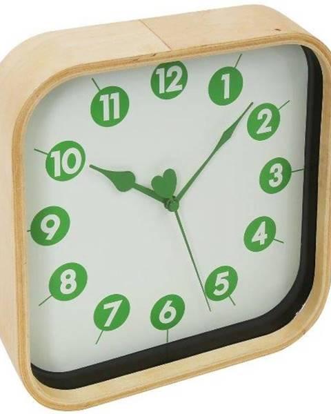 MERKURY MARKET Hodiny Morning Wall Clock Green 42988 PZMGC