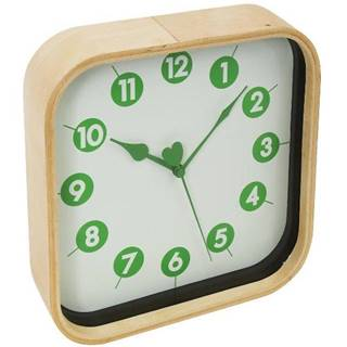 Hodiny Morning Wall Clock Green 42988 PZMGC