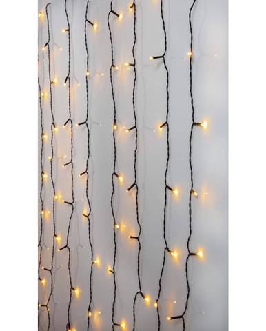 Vonkajšia svetelná LED reťaz Best Season Curtain, 80 svetielok