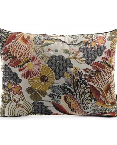 Dekoratívny vankúš s kvetinovým vzorom s prímesou bavlny HoNordic Alvito, 60 × 45 cm