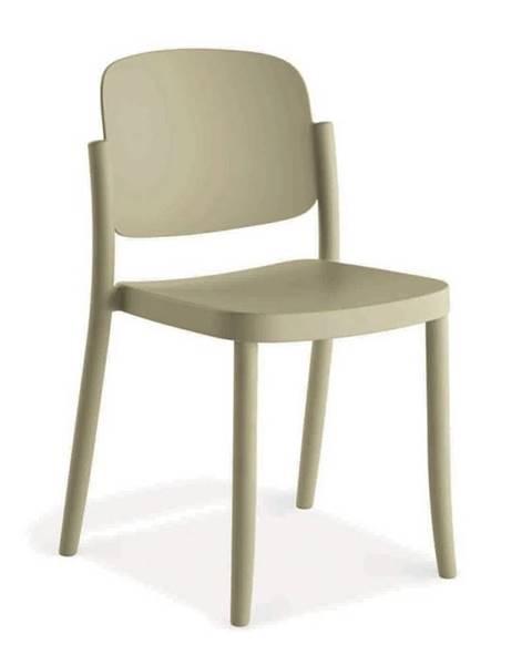 Möbelix Plastová stolička Plaza Piesková