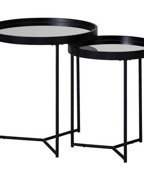 Möbelix Príručný stolík Z Čierneho skla A kovu