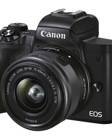 Digitálny fotoaparát Canon EOS M50 Mark II + EF-M 15-45 čierny