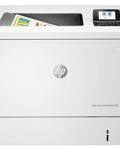 HP Tlačiareň laserová HP Color LaserJet Ent M554dn biela