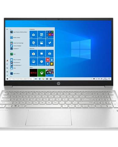 Notebook HP 15-eg0002nc strieborný