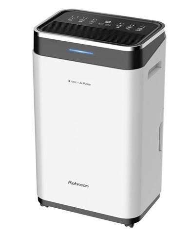 Odvlhčovač Rohnson R-9575 Ionic + Air Purifier čierny/biely