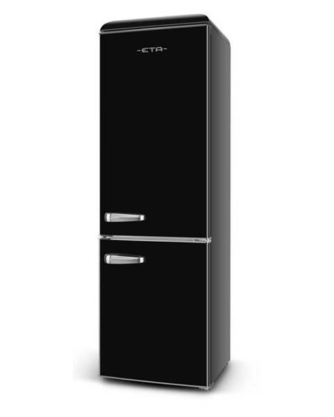 Eta Kombinácia chladničky s mrazničkou ETA Storio 253290020E čierna