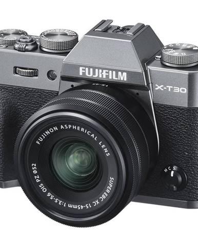 Digitálny fotoaparát Fujifilm X-T30 + XC15-45 mm siv