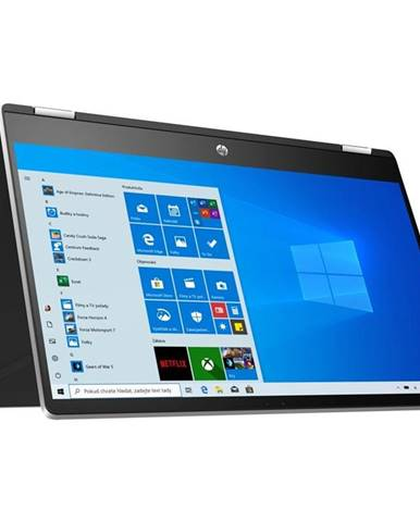 Notebook HP Pavilion x360 15-dq1001nc strieborný