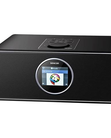 Internetový rádioprijímač Sencor SIR 6000WDB čierny