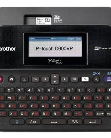 Tlačiareň štítkov Brother PT-D600VP s kufrem