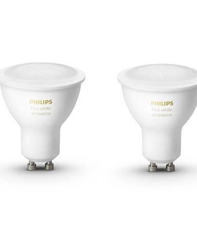 Inteligentná žiarovka Philips Hue Bluetooth 5W, GU10, White