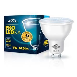 LED žiarovka ETA EKO LEDka bodová 7W, GU10, neutrálna biela