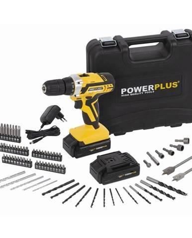 Aku vŕtačka Powerplus Powx00820