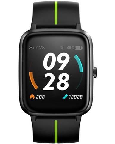 Inteligentné hodinky UleFone Watch GPS čierne/zelené